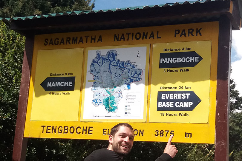 Tengboche is also a part of Sacred Sites Trail Project