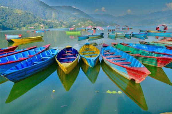 Fewa Lake - Pokhara, Nepal