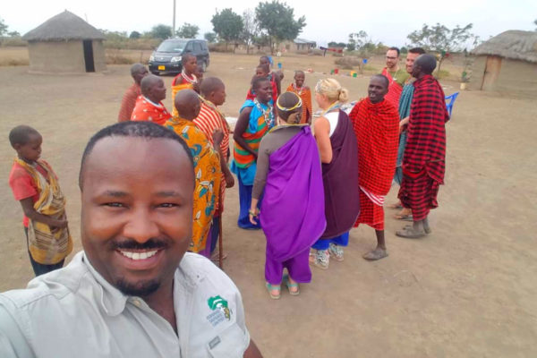 Local Kilimanjaro Tribe