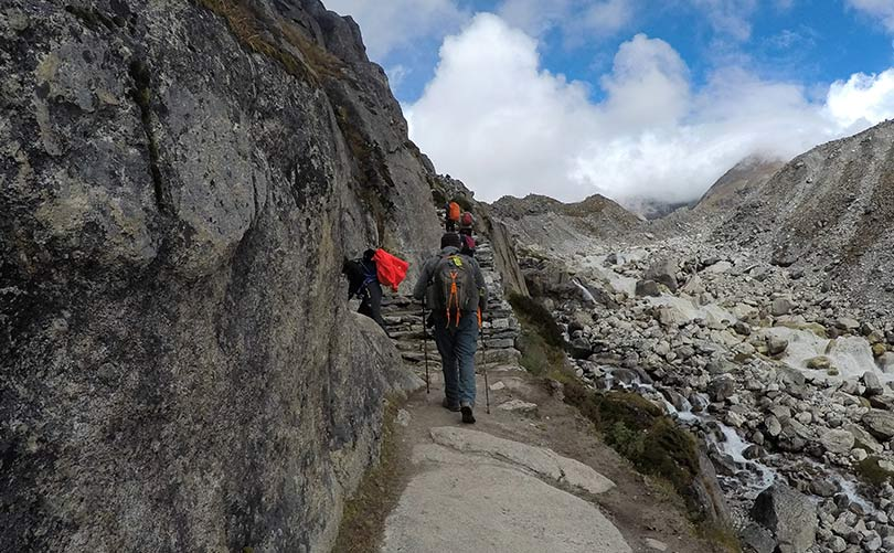 Trekking in Everest Region during Spring Season;  one of the best time to trek to Everest Base Camp