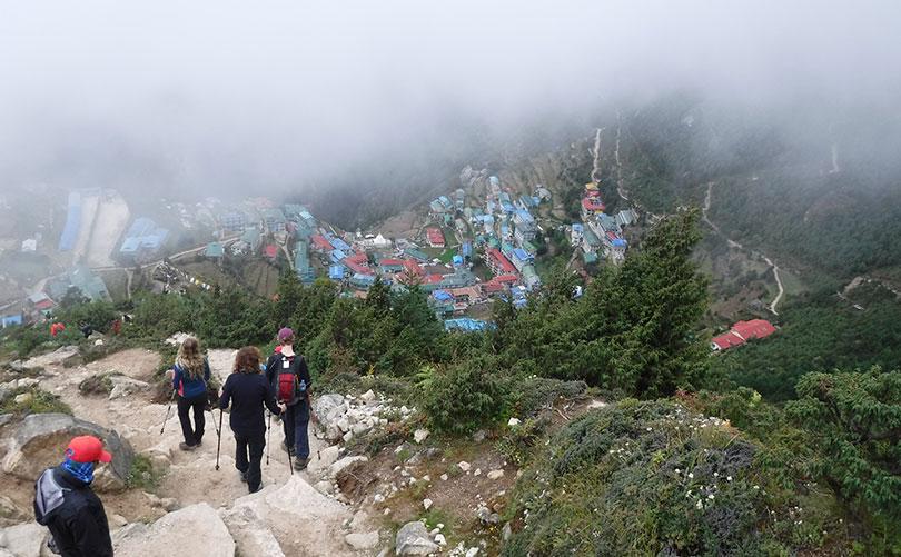 Everest Base Camp trek during Monsoon Season;  also a best time to trek to Everest Base Camp